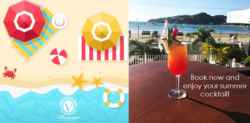 FREE summer cocktail when booking your room