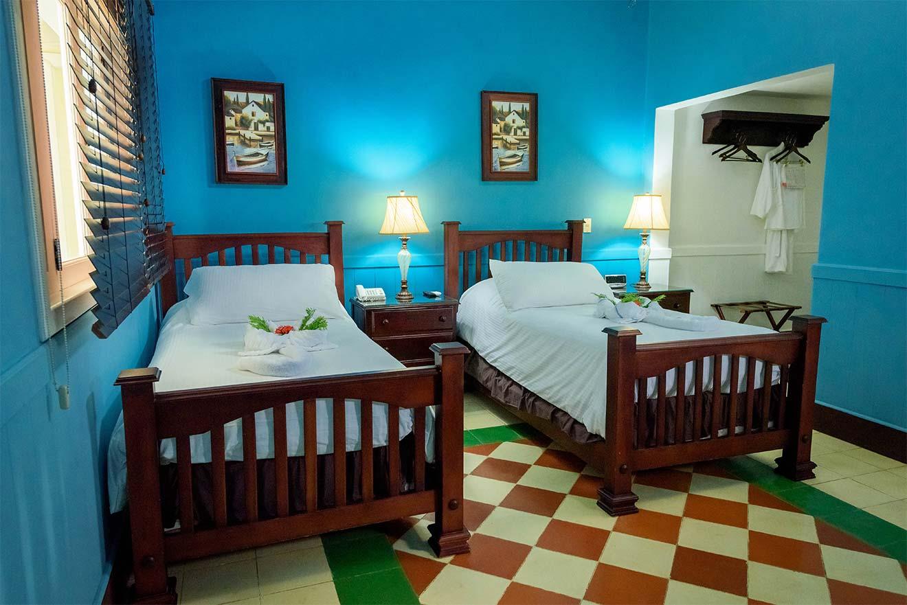 Habitacion Twin Hotel Victoriano San Juan Del Sur Nicaragua